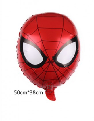 Spiderman Head Foil Balloon17''