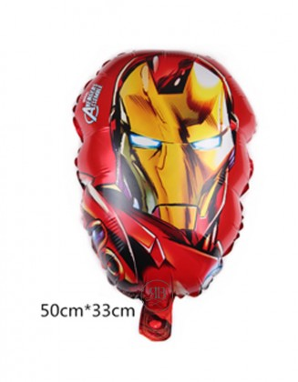 Iron man head Foil Balloon 20''