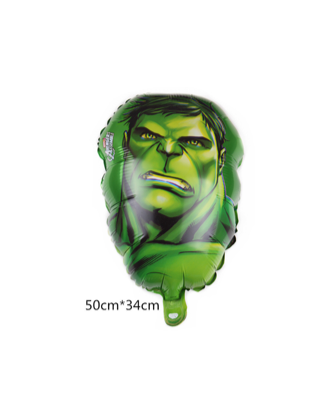 Hulk Head Foil Balloon Hero 20''