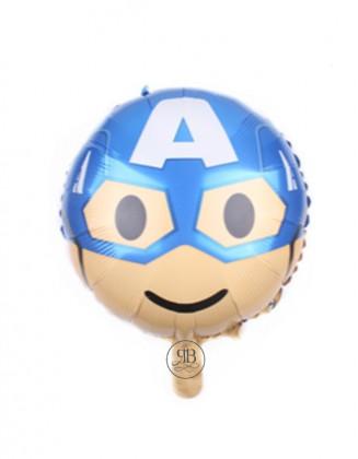 """Captain America - 18"""" Foil Balloon"""