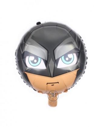 black hero Foil Balloon 18''