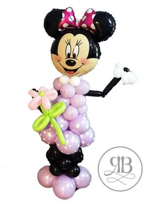 Minnie/ Mickey with flower