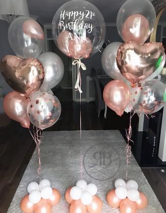 Helium Birthday Package