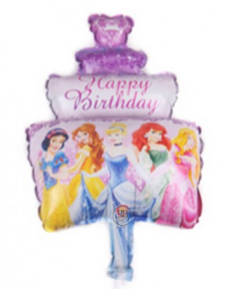 Happy Birthday Princesses 16''