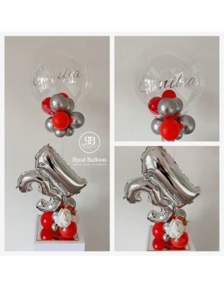 Small Display Bespoke balloon centripiece