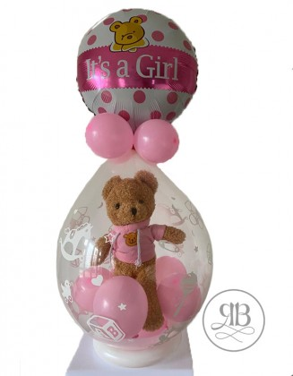 Stuffing Balloon Girl Teddy