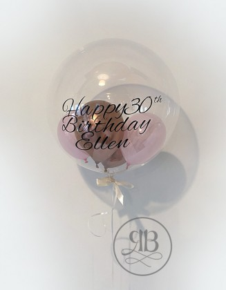 Bespoke Balloon 24'' filled with balloons