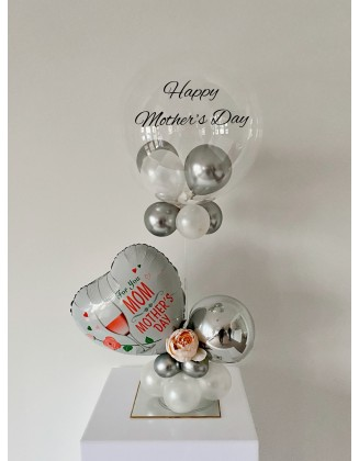 Mother's Day balloon on stand