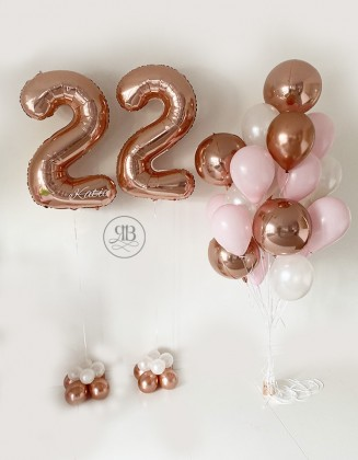Balloon Bouquet and Numbers...