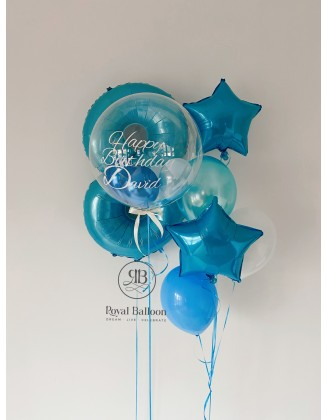 Any Number, bespoke balloon and a bouquet of balloons