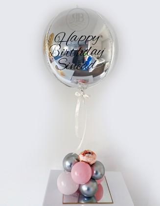 Centerpiece Bespoke Foil ORB Balloon