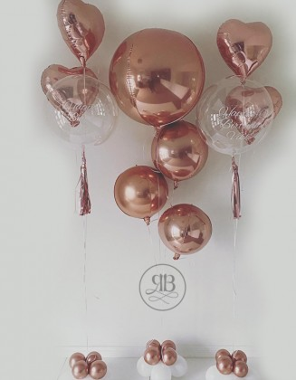 Birthday rose-gold package