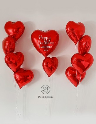 Bespoke Heart and 9 hearts