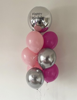 Bouquet of latex with Bespoke ORB
