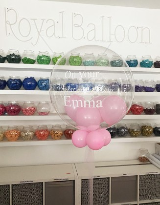 Christening bespoke balloon