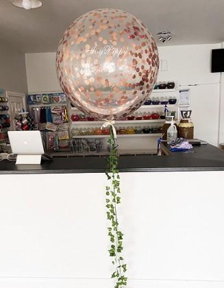 Huge 3 Ft Confetti Balloon