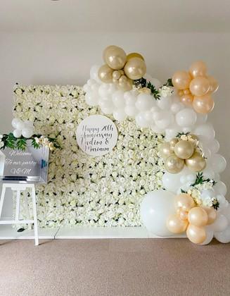 Bespoke Flower Wall
