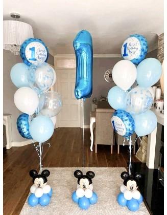 First Birthday Mickey theme...